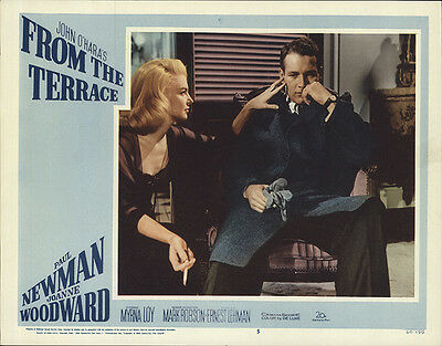 From the Terrace 1960 Original Movie Poster Paul Newman Drama Romance
