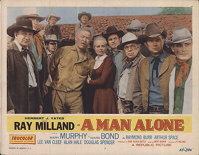 A Man Alone 1955 Original Movie Poster Western