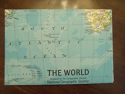 National Geographic MAP Of The World December 1981