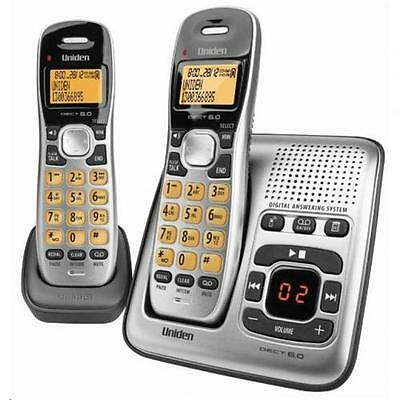 NEW Uniden DECT1735+1 cordless phone Digital Answer Machine, 70 Phonebook Memori