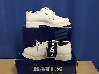 Usn - New White Shoe Size 9.5 E  (Wide )  Bates Lite