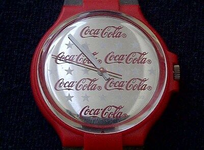 VINTAGE -- COCA COLA WRIST WATCH (No. 427) -- SWISS MADE -- NOT WORKING