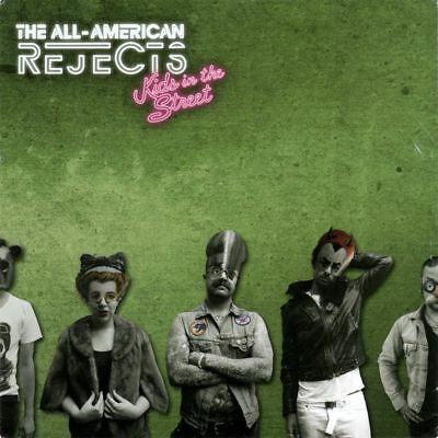 The All-American Rejects ‎- Kids In The Street on Red Vinyl LP NEW