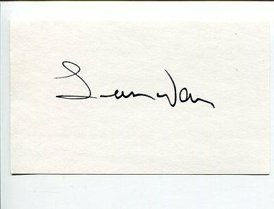 Leon Ware I Want You R&B Singer Producer Signed Autograph