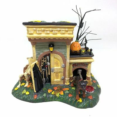 Dept 56 Grimsly's Tool Shed 56.54717 Snow Village Halloween Original Box Retired