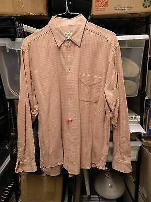 R. Logan And Sons Very Rare Pre Washed 100% Cotton Flannel Large Shirt Stylish!!
