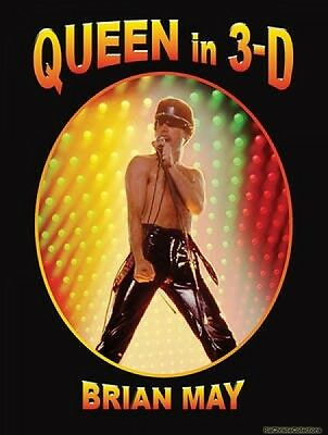 Queen in 3-D Brian May Hardback New Book Free UK Delivery