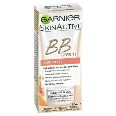 Garnier Youthful Radiance Miracle Skin Perfector BB Cream Nude Effect SPF 15 ...