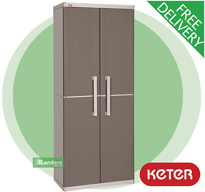 Keter Space Winner Outdoor Storage Cabinet - Cupboard (Similar to Optima Wonder)