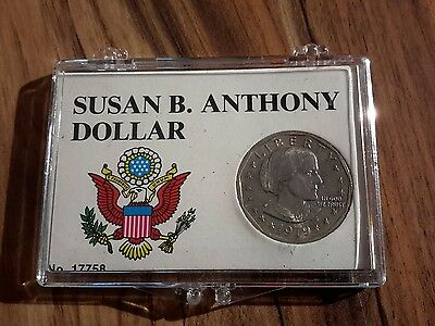1979-P Near Date Susan B Anthony Dollar - Uncirculated Details