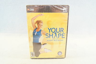Your Shape Featuring Jenny McCarthy PC 2009 Computer Video Game Ubisoft - New