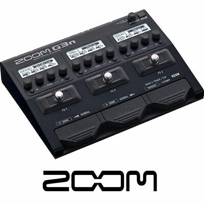 Zoom G3n Guitar Multi Effects Pedal and Amp Simulator