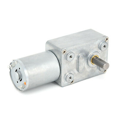 1X DC 12V Electric Tool Torque Turbo Reversible High Worm Geared Motor Reduction