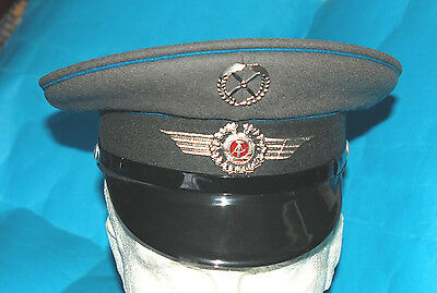 German Air Force Officers Cap With Cap Badges (B).