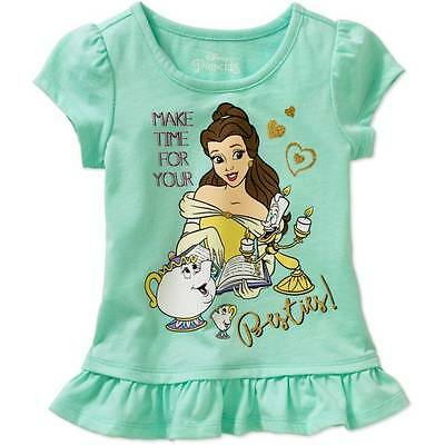 Disney Beauty And The Beast Belle Shirt Size 2T 3T 4T 5T New!