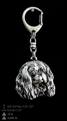 Cavalier King Charles Spaniel Schlüsselanhänger ART-DOG, Limited Edition