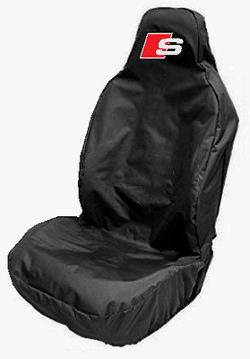 Audi S-LINE Sports Large Bucket Car Seat Cover Protector Q3 Q5 Q7 A8 A7 R8 - NEW