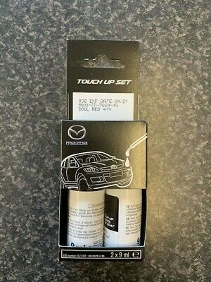Mazda Touch Up Paint Set Soul Red 41V 9000777W241V Brand New Genuine Paint