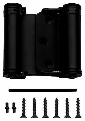 National Hardware N100-052 V127 Double-Acting Spring Hinges, Oil Rubbed Bronze