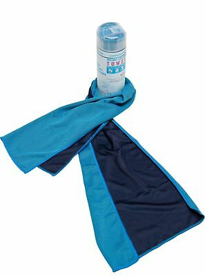 ICE COOLING TOWEL in CONTAINER-Stays Cold Longer-Exercise Gym Sports Workout