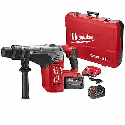 "M18 FUEL 1-9/16"" SDS Max Hammer Drill Kit Open Box Milwaukee 2717-22HD New"