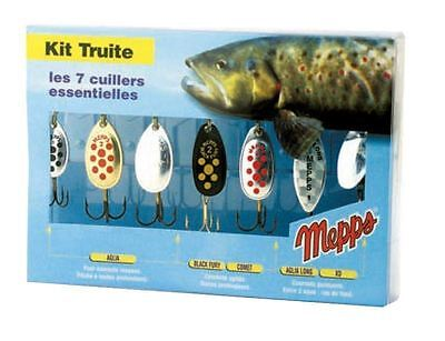 Mepps 7 Spinning Lure Trout Fishing Kit
