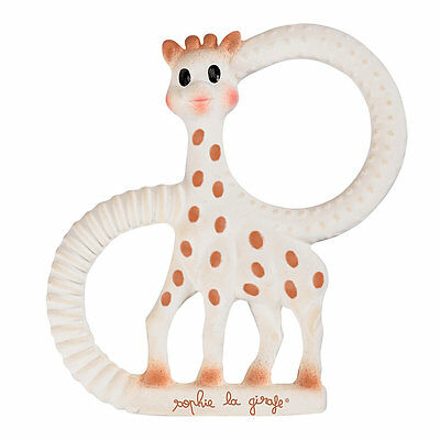 New ELC Boys and Girls Sophie The Giraffe Pure Teething Ring Toy From Birth