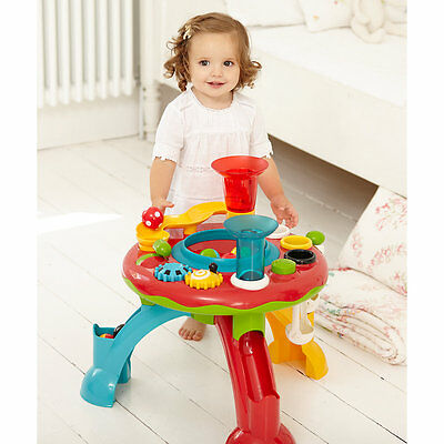 New ELC Boys and Girls Light and Sounds Activity Table Toy From 1 year