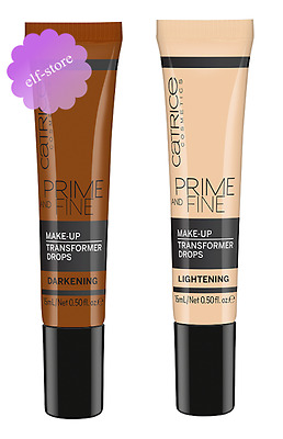 Catrice Cosmetics Prime and Fine Make Up Transformer Drops Foundation