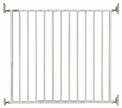 Storkcraft Easy Walk-Thru Metal Safety Gate, White