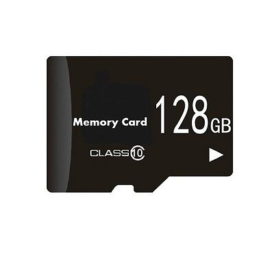 128GB Memory Card for GoPro Hero 4 Black Silver Session