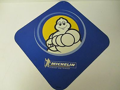 Michelin Tire Pin Up Sign! Double Sided! Free Shipping!