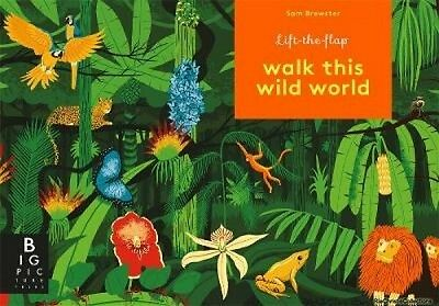 Walk This Wild World Kate Baker Board book New Book Free UK Delivery