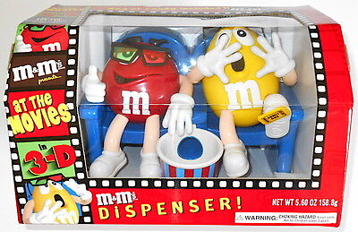 A Mars M&M's At The Movies in 3D Official Limited Edition Candy Dispenser NEW