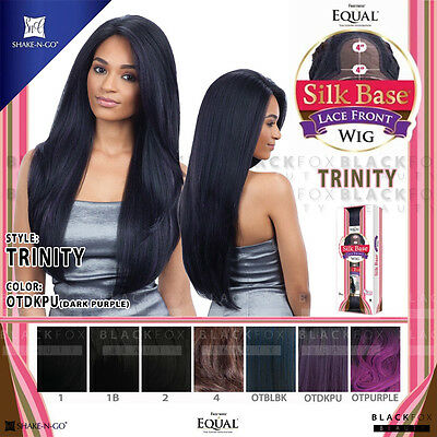 Trinity Freetress Equal Silk Base Lace Front Synthetic Wig Long Straight