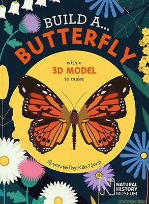 Build a... Butterfly Kiki Ljung Board book New Book Free UK Delivery