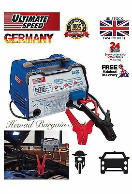 Top Quality German Made Car Battery Charger With Jump Starter For 12/24Volt