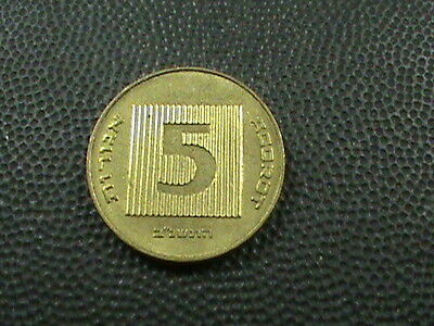ISRAEL    5  Agorot    1982   $ 2.99 maximum shipping in USA
