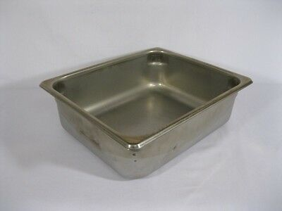 Instrument Tray Stainless Steel - 12-1/2 x 10-1/2 x 4