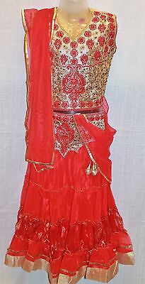 Ghagra choli Lacha Chanya Choli lehanga Langa Skirts girls kids 5 and 10 yrs
