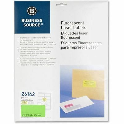Business Source Fluorescent Laser Label 26142