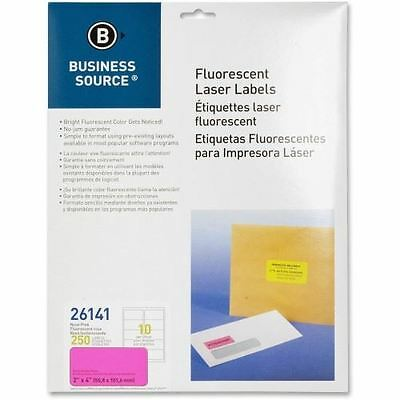 Business Source Fluorescent Laser Label 26141