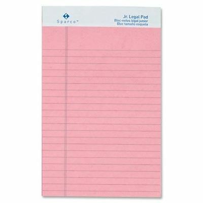 Sparco Colored Jr. Legal Ruled Writing Pads 01071