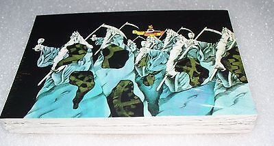The BEATLES Yellow Submarine Jumbo Collector Cards   Trading Card Set