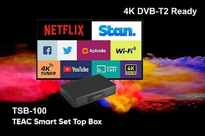 Kaiser Baas Smart TV Media Centre Player Android HDMI Supports HDD WiFi Netflix