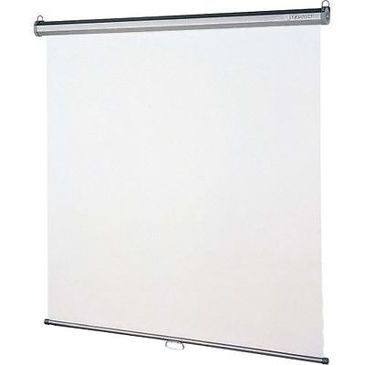 Quartet Manual Projection Screen - 1:1 - Wall Mount, Ceiling Mount 670S