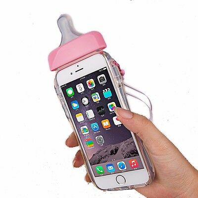 Cell Phone Case Iphone 5s Gel 8322448543177 Milk For Cute Clear Cover Bottle