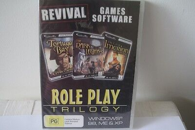 Computer Gaming Software - 3 GAME PACK - ROLE PLAY TRILOGY - PC GAME - BRAND NEW