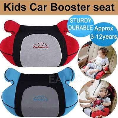 Car Booster Seat Safe Sturdy portable Baby Kids For 3-12 Years 15-36kg Traveling