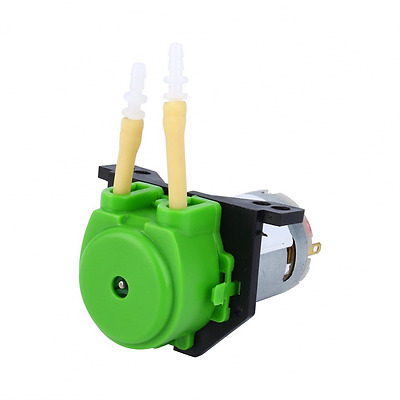 Dosing Pump12V DC Peristaltic Liquid Pump Hose Pump Dosing Head for Aquarium Lab